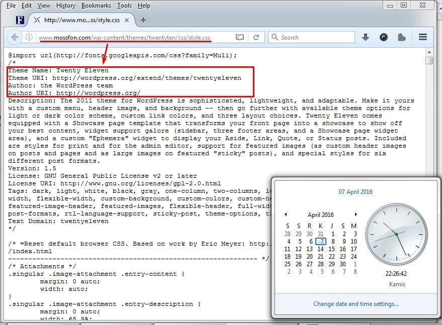 Mossfon.com yang Menggunakan Tema WordPress Twenty Eleven (Mossack Fonseca)