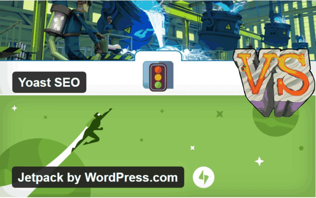 Plugin SEO Yoast vs Plugin Jetpack by WordPress.com