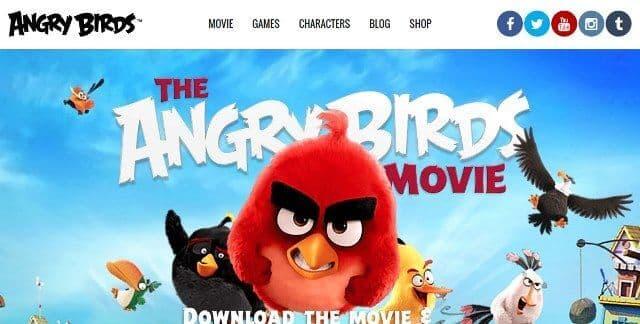 Beranda AngryBirds.com