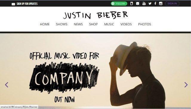 Beranda Justinbiebermusic.com