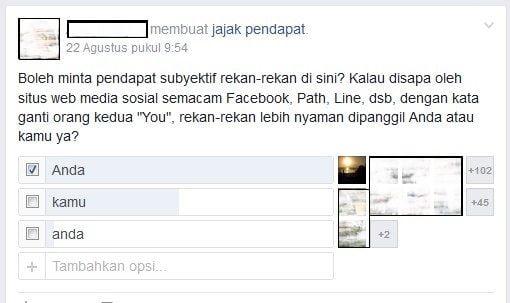 """Terjemahan Bahasa Inggris ke Bahasa Indonesia Kata """"You"""""""