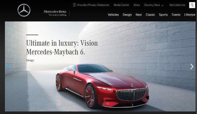 Beranda Marcedes-Benz.com
