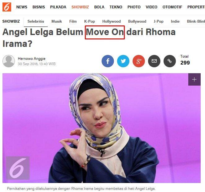 Angel Lelga Belum Move On dari Rhoma Irama? showbiz.liputan6.com