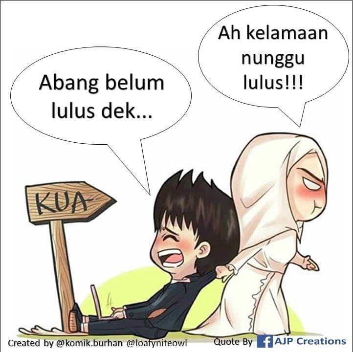 Cerita Komik Romantis Muslimah Mahasiswa Belum Lulus Kuliah
