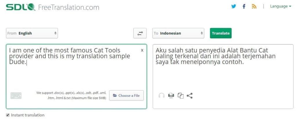 Freetranslations.com - Situs Penerjemah Online Selain Google Translate