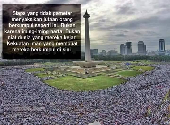 Aksi 212 Monas Jakarta Super Damai Belas Islam