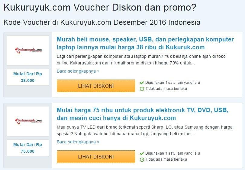 Cari Kode Kupon Belanja Murah Untuk Belanja Daring di Saleduck
