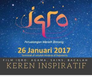 Film Iqro: Agama, Sains, dan Bacalah (Film Anak Islami Indonesia Keren)