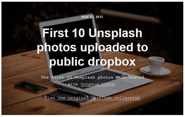 Sejarah Unsplash.com