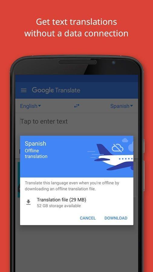 Aplikasi Translate Bahasa Inggris Indonesia Offline dengan Google Translate Dari HP Android