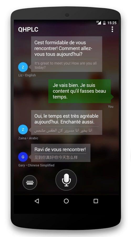 Contoh Aplikasi Translate Terbaik Untuk Android - Translator Microsoft Corporation
