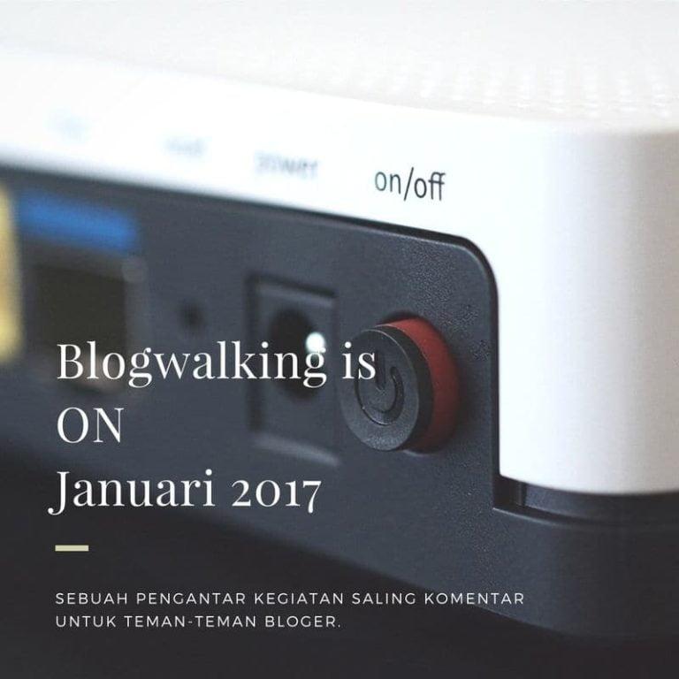 Blogwalking is On tarjiem.com