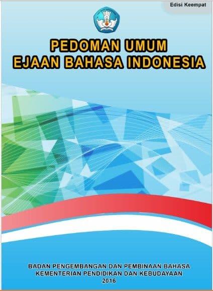 Pedoman Umum Ejaan Bahasa Indonesia PDF Sampul Buku