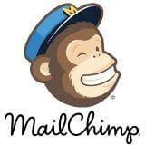 Logo MailChimp.com Kotak Kecil Putih 160x160 piksel