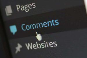 Menu Komentar di Administrator WordPress