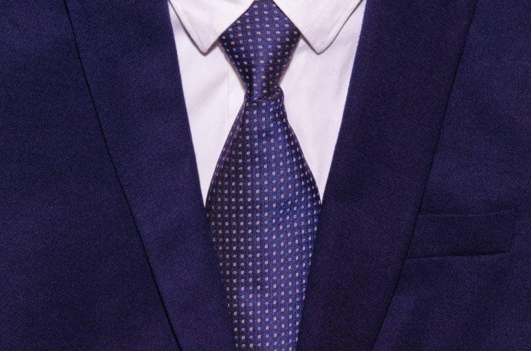 Dasi Biru Kemeja Putih Jas Pakaian Kerja Bisnis Rapi