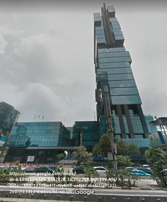 Gedung UOB Plaza Jl. Thamrin Jakarta Chubb Square Peta Google