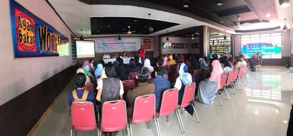 Suasana Acara-Gelar Wicara HPI Komda Jabar 27 Oktober 2018
