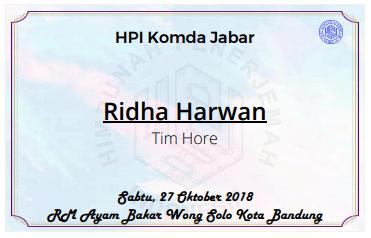 Contoh Nama Peserta Acara HPI Komda Jabar Wong Solo Mendulang Dolar Dari Terjemahan Acara Penerjemah Bahasa di Bandung Pakai Desain Canva