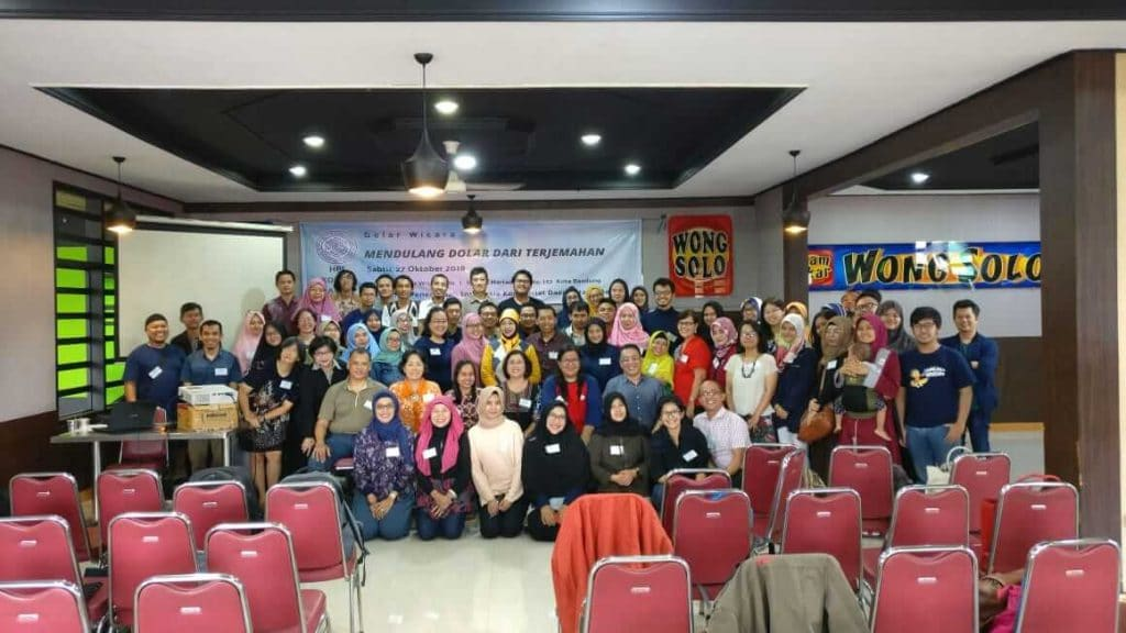 Foto Bersama Gelar Wicara HPI Komda Jabar 27 Oktober 2018