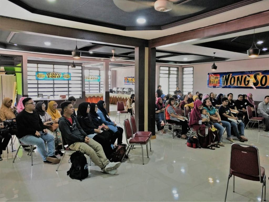 Para Peserta Gelar Wicara HPI Komda Jabar 27 Oktober 2018
