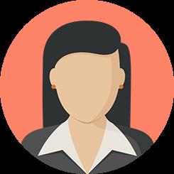 ikon icon orang tim team wajah muka cewek wanita pekerja karir