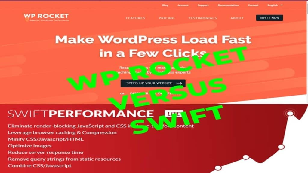 WP Rocket VS SWIFT Perbandingan Plugin WordPress Berbayar vs Gratis