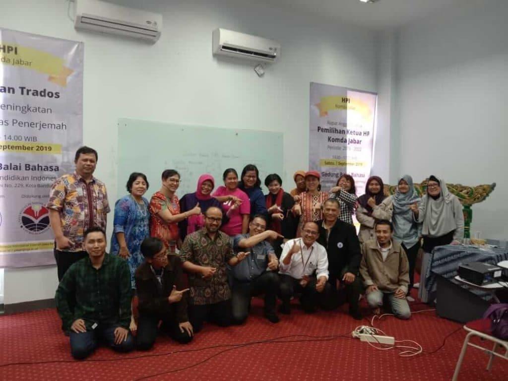 Foto Bersama Setelah Pemilihan Ketua HPI Komda Jabar 7 September 2019 2029-2022 Eki Qushay Akhwan